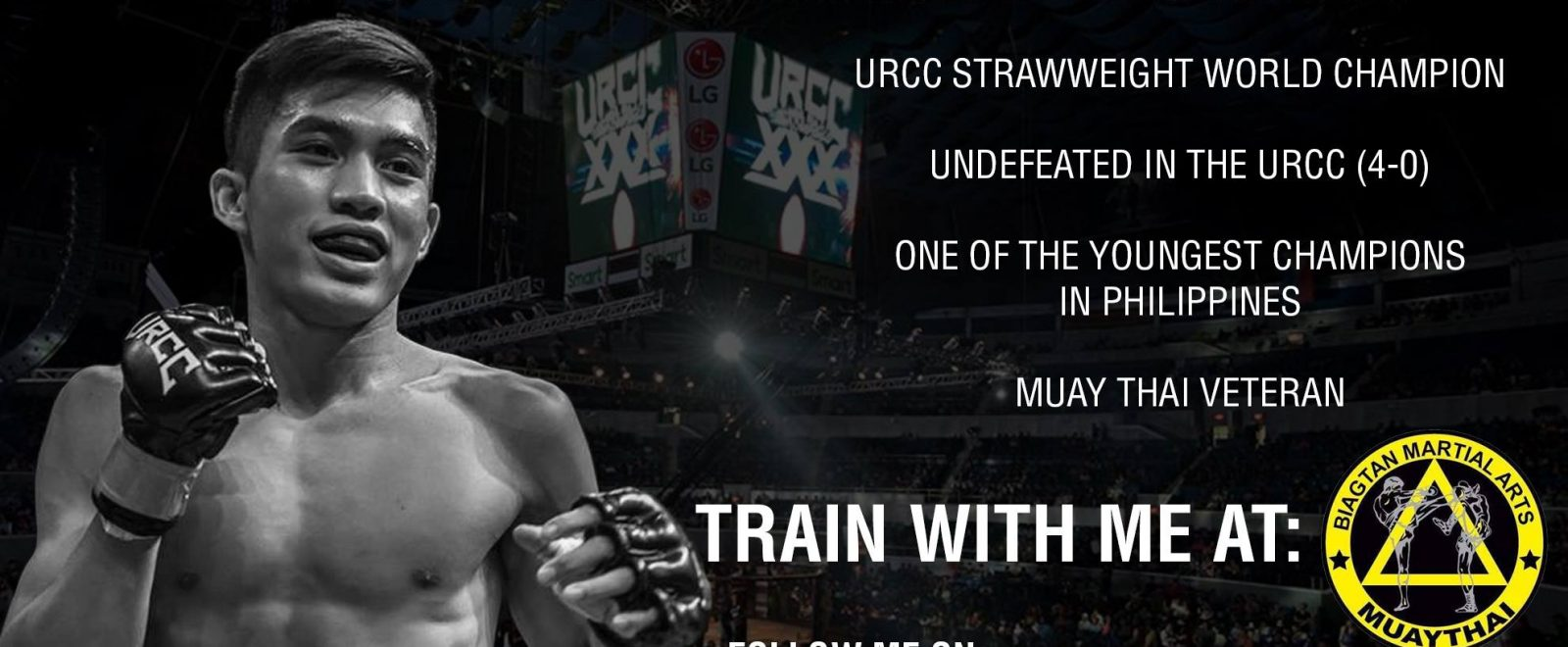 Train with the Champ